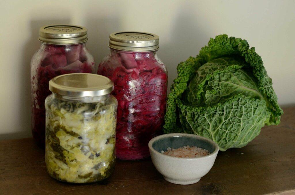lacto fermentation de légumes